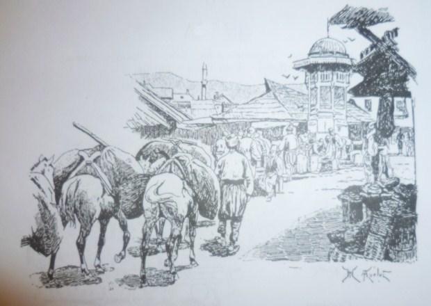 Sarajevo. Skica, Ž.N.