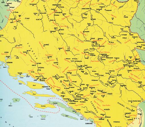 BiH-Karta