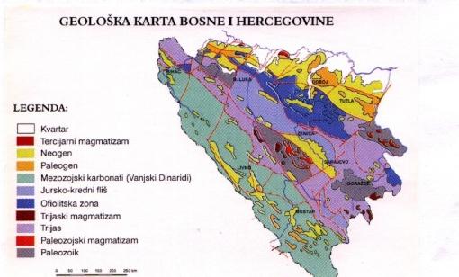 Geoloska Karta Bih Hamdocamo