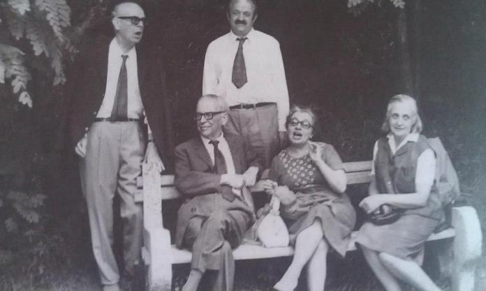 Meša-Selimović-Ivo-Andrić-Darka-Selimović-i-Milica-Babić