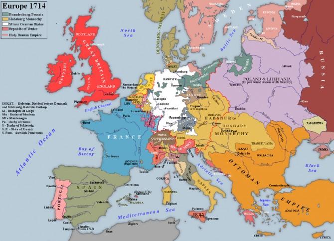 karta evrope posle prvog svetskog rata TREĆI SVETSKI RAT SE VODIO 150 GODINA PRE PRVOG: Nije vam jasno  karta evrope posle prvog svetskog rata
