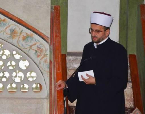 Imam Careve džamije u Sarajevu Sadrudin Išerić