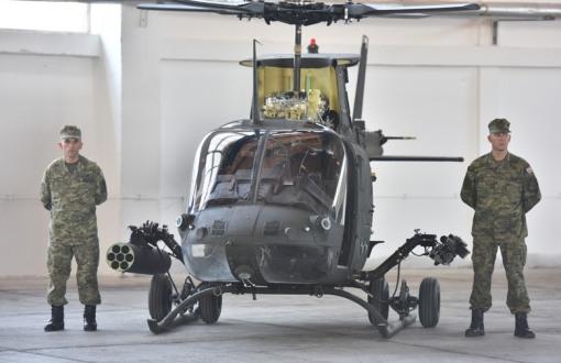 5 od ukupno 16 OH-58D Kiowa Warrior jurišnih helikoptera, Foto: Dino Stanin/PIXSELL