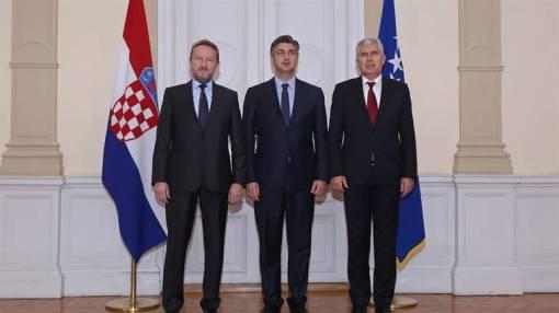 Andrej Plenković vrlo otvoreno govori o potrebi promjene izbornoga zakonodavstva u Bosni i HercegoviniPredsjedništvo BiH