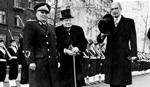 Tito sa Čerčilom/Foto: Agencije