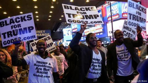 Ali, ima tamnoputih Amerikanaca koji podupiru Trumpa
