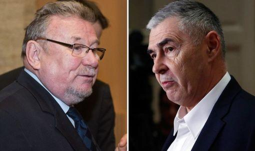 Vladimir Šeks,  Željko Glasnović, Foto: Darko Tomaš, Damjan Tadić/Hanza Media
