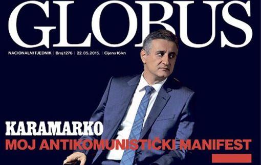 Tjednik Globus (ILUSTRACIJA: mijovic.net)