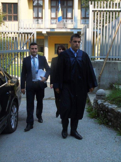 Tužilac Čampara i njegov tim odlaze na izricanje prvostupanjske presude