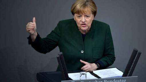 Angela Merkel je upozorila na moć lažnih vijesti na društvenim mrežama[EPA]