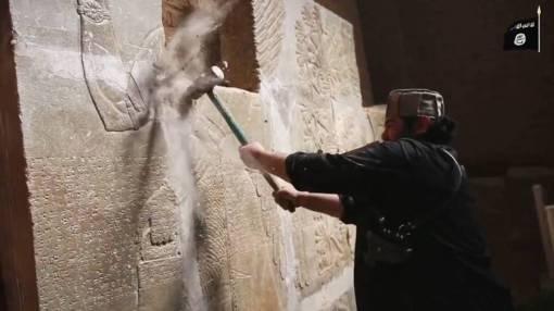 Borci ISIL-a teško su oštetili arheološka nalazišta u Nimrudu, osnovanom u 13. stoljeću, EPA