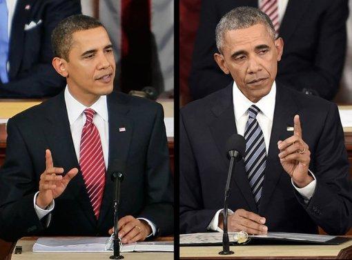 Obama 2009. i 2016. godine