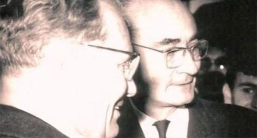SFRJ prošlost: Josip Broz Tito i Emerik Blum, Photo: L.A.