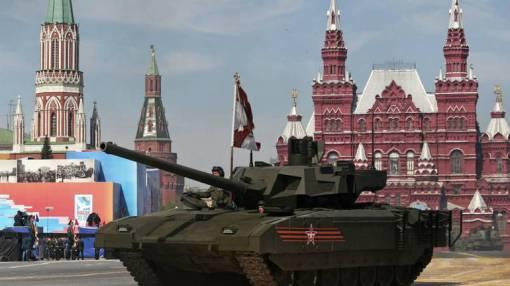 Rusija je Armatu predstavila na nedavnom obilježavanju Dana pobjede nad fašizmom, AP