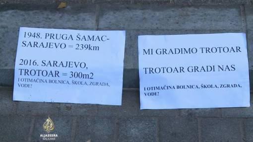 Sarajevo je u srijedu usljed smijeha pocupkivalo do ponoći,Al Jazeera