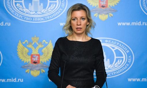 Marija Zaharova, potparolka ruskog Ministarstva spoljnih poslova