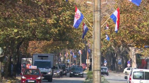 Zastave HZHB u Mostaru