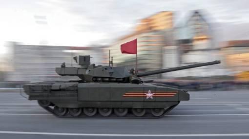 Armata je prvi put predstavljena javnosti na Dan pobjede 9. maja u Moskvi 2015., EPA