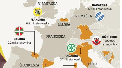 Belgija Juzni Tirol Ovo Su Regije Koje Bi Mogle Mijenjati